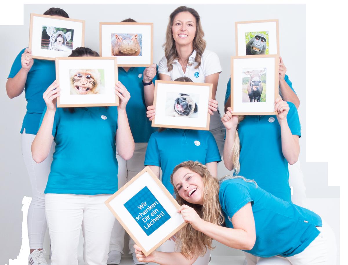 Bild Team Kieferorthopädie Dr. Theresa Jilek Wolfratshausen Wir schenken Ihnen ein Lächeln